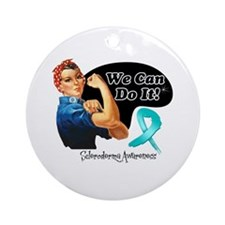 Scleroderma We Can Do It Ornament (Round)