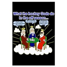 Hockey Gods Framed Print
