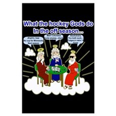 Hockey Gods Poster
