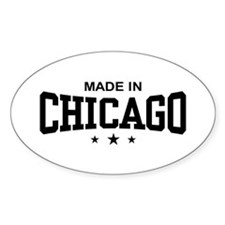 Made In Chicago Decal