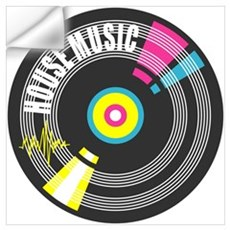 House Music Vinyl Wall Decal