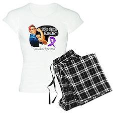 Sarcoidosis We Can Do It pajamas