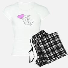 Heart my Chief (Navy Ladies) Pajamas