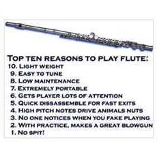 Flute Top 10 Poster