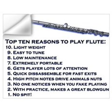 Flute Top 10 Wall Decal