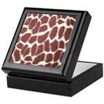 Giraffe Print Keepsake Box