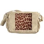 Giraffe Print Messenger Bag