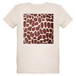 Giraffe Print Organic Kids T-Shirt