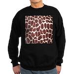 Giraffe Print Sweatshirt (dark)