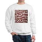 Giraffe Print Sweatshirt