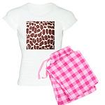 Giraffe Print Women's Light Pajamas