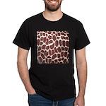 Giraffe Print Dark T-Shirt