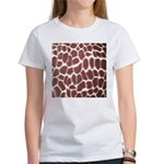 Giraffe Print Women's T-Shirt