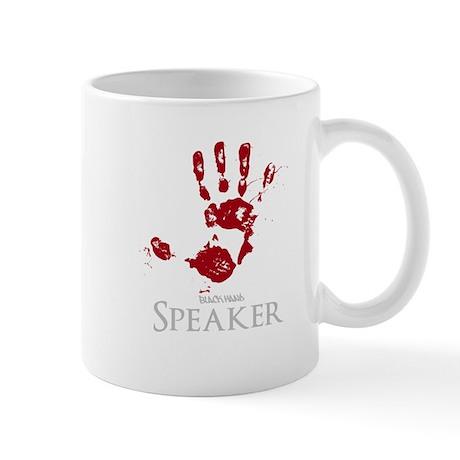 Black Hand Speaker Mug
