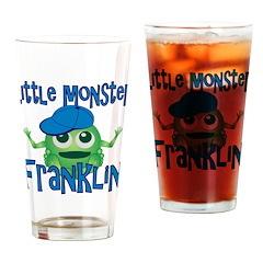 Little Monster Franklin Drinking Glass