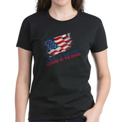 Home of the Free Women's Dark T-Shirt