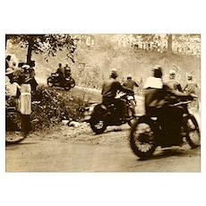 Vintage 200-mile TT Poster