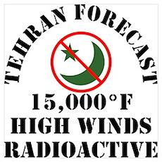 Tehran Forecast Poster