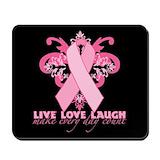 Live love laugh Classic Mousepad