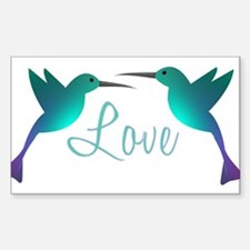 Love Birds Decal