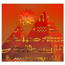 Egyptian Skies Poster