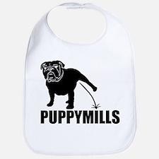 BULLDOG [pee on] PUPPYMILLS Bib