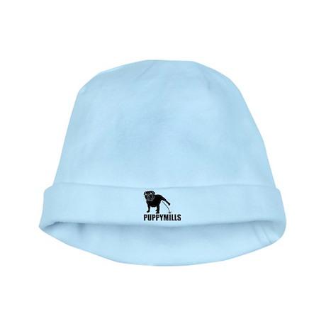 BULLDOG [pee on] PUPPYMILLS baby hat