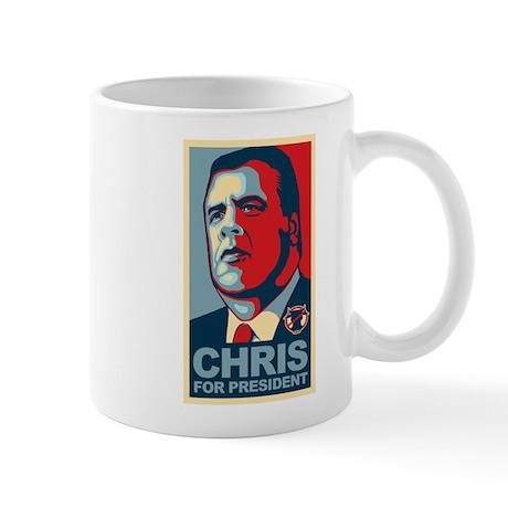 Christie For President Mug