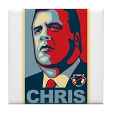 Christie For President Tile Coaster