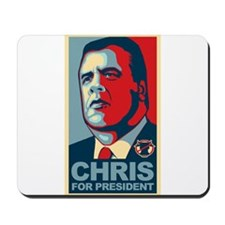 Christie For President Mousepad