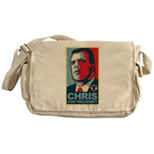 Christie For President Messenger Bag