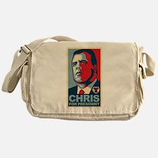 Christie For President Messenger Bag