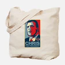 Christie For President Tote Bag