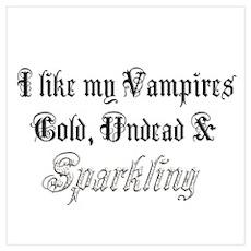 Cold Undead & Sparkling Diamo Poster