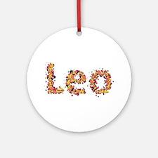 Leo Fiesta Round Ornament