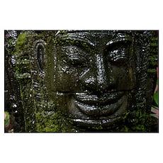 Khmer statue Poster