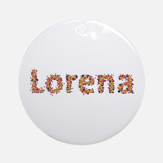 Lorena Fiesta Round Ornament