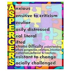 autism aspergers Poster