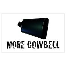 More Cowbell v.2 Poster