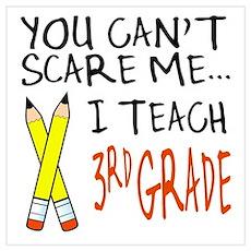 3rd Grade Teacher Poster