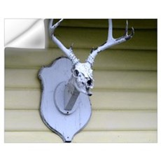 Deer Skull Trophy Wall Decal