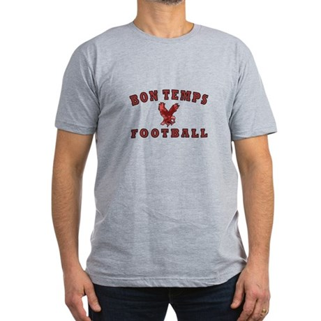 True Blood Bon Temps Men's Fitted T-Shirt (dark)