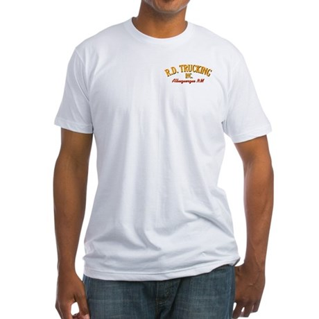 Convoy Rubber Duck R.D Trucking Fitted T-Shirt