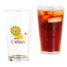 Sanaa the Lion Drinking Glass