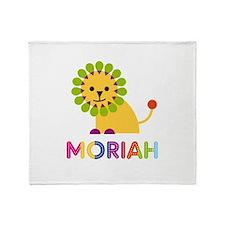 Moriah the Lion Throw Blanket
