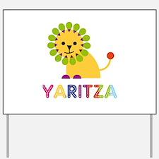 Yaritza the Lion Yard Sign