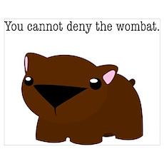 Wombat Poster