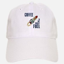 Coffee is my Rocket Fuel Baseball Baseball Cap
