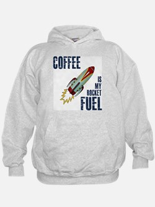 Coffee is my Rocket Fuel Hoodie