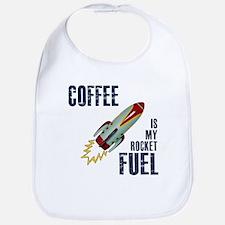 Coffee is my Rocket Fuel Bib